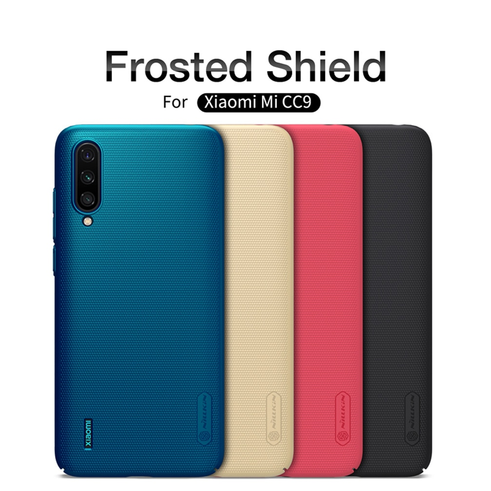 Для Xiaomi Mi A3 MiA3 чехол Mi CC9 CC 9 NILLKIN матовый защитный жесткий пластиковый ПК матовый чехол для Xiaomi Mi CC9e CC 9e чехлы