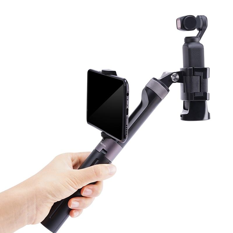 Aperto de Mão Tripé para Nsta360 x para Gopro Pgytech Osmo Selfie Vara & Amp um Hero8 7 6 5 4 – Xiao mi yi 4k Ação Accessorie Pocket2