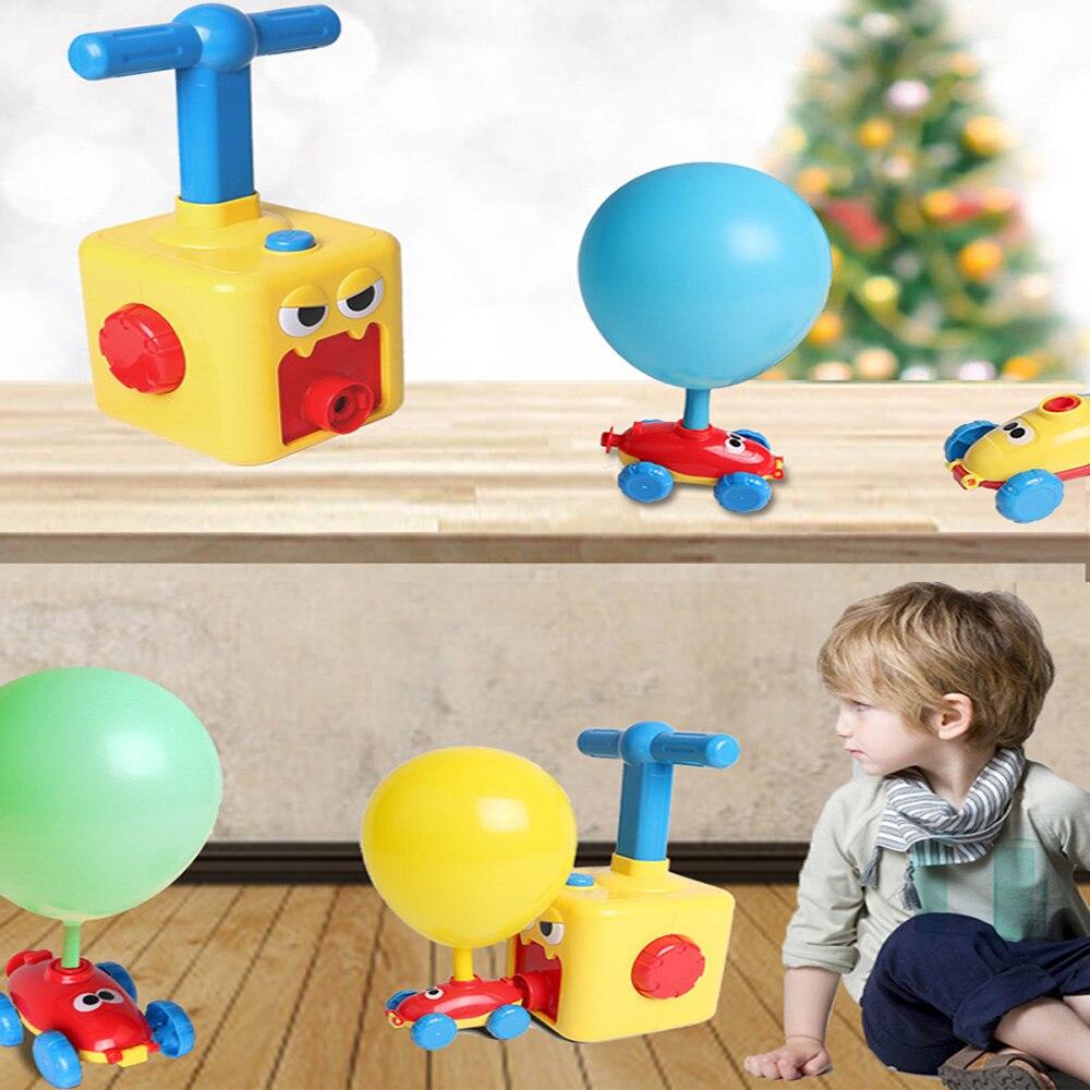 Автомобиль игрушки для детей аэродинамические силы надувные шары Игрушка автомобиль инерционная сила шар игрушка ребенок Раннее образование подарок
