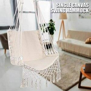 Скандинавский стиль гамак безопасности висит гамак стул качели веревка открытый Крытый висит стул садовое сиденье для детей и взрослых