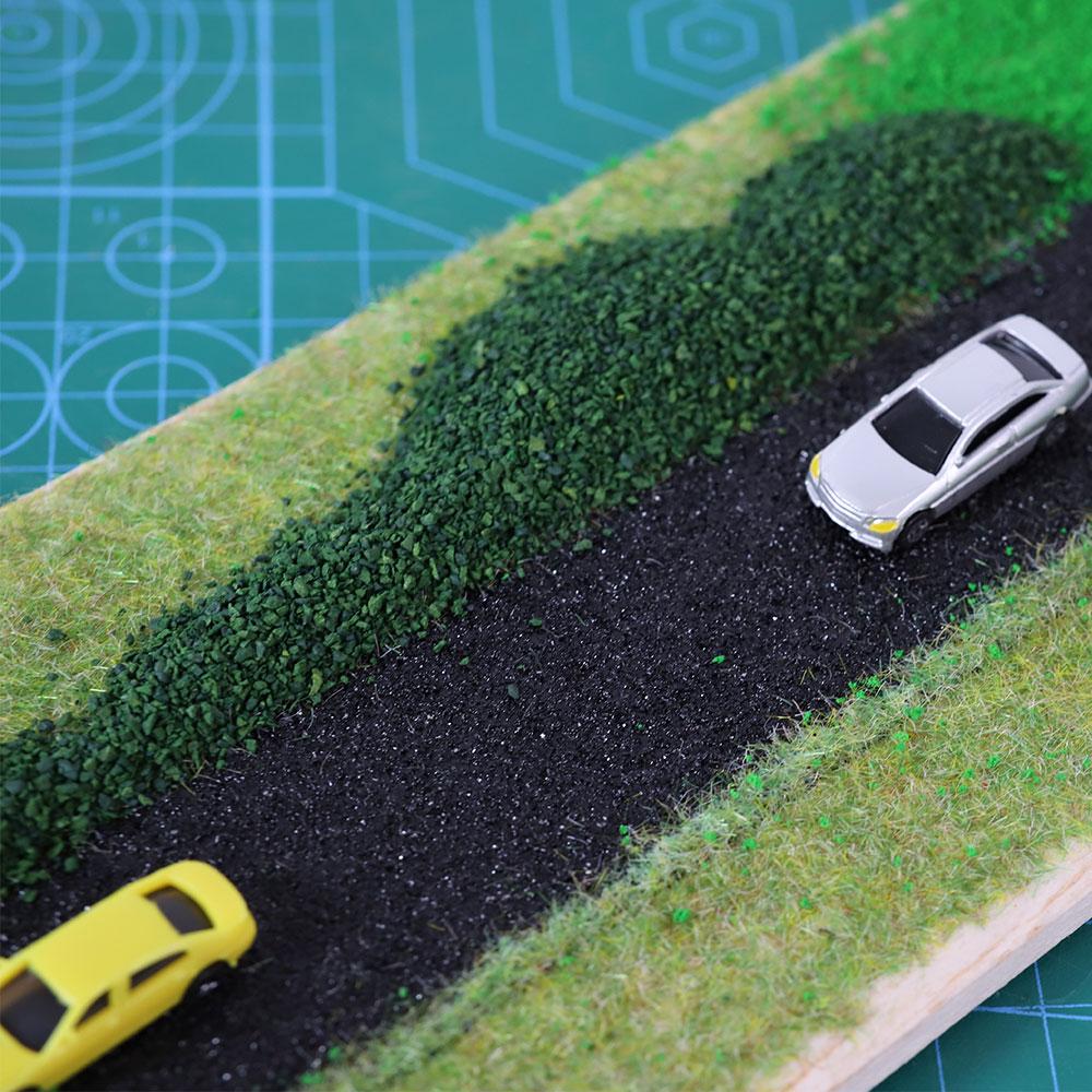 Модель дороги «сделай сам», наклейки для моделирования дороги, 500*5 см