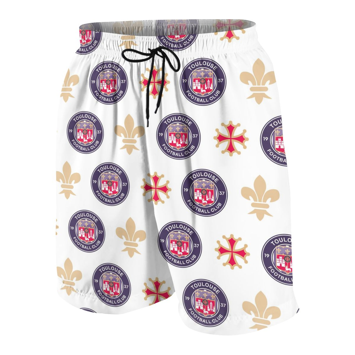 Toulouse FC Youngsters Shorts Joggers Quick-dry Cool Short Pants Casual Beach Sweatpants