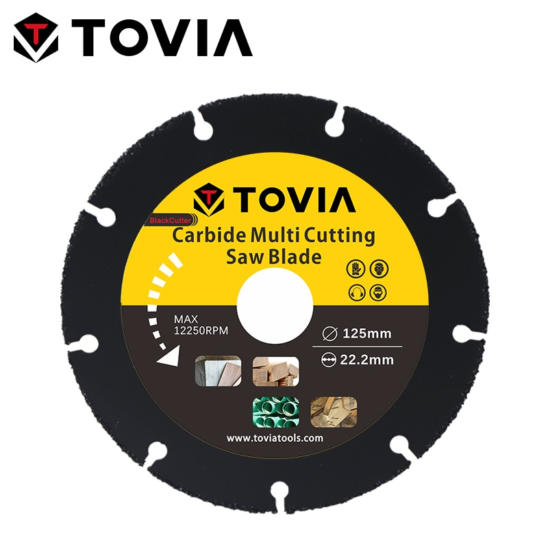 TOVIA 125mm Carbide Saw Blades Wood Cutting Disk Cutting Wood Saw Disc Multitool Wood Cutter Angle grinder For Wood wood wood бермуды