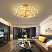 bedroom light simple modern atmosphere home fashion creative round led ceiling mount lamp nordic hall dimming lamps