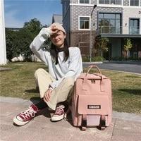 versatile womens bag large capacity korean backpack youth nylon computer