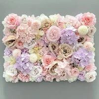 40x60cm aritificial silk rose flower wall panels decoration flower for wedding baby shower party display window backdrop decor