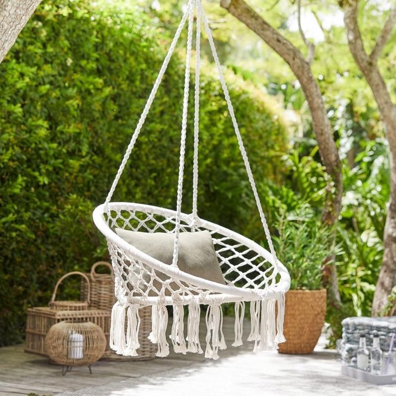 Садовый садовая мебель подвесной круглый стул