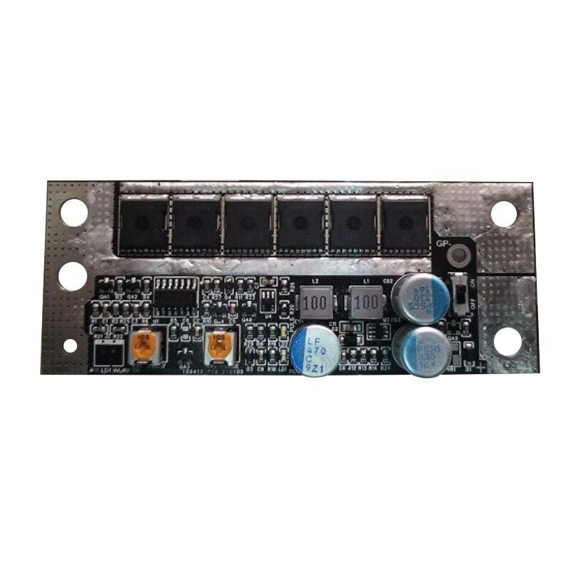 4.2-5V DIY Circuit PCB Board 10 MOS Tube For 18650/26650/32650 Lithium Battery Spot Welding Machine Control Board Spot welder