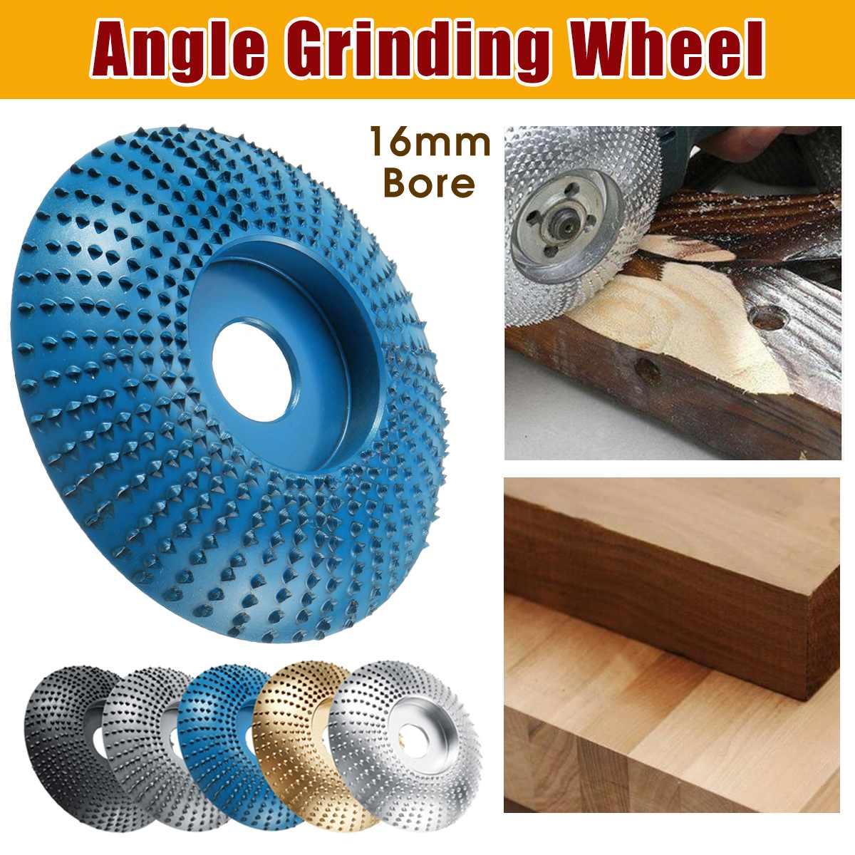 84mm de diámetro 16mm de diámetro molinillo de madera molinillo angular disco lijado tallado herramienta abrasiva para molinillo angular molinillo