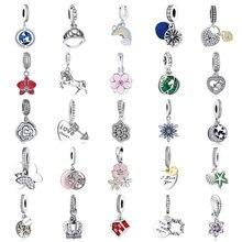 Nouveau 2020 perles breloque pendentif pour ajustement Pandora Bracelets à breloques en argent Sterling 925 Original bracelet collier fabrication de bijoux bricolage