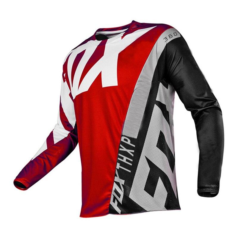 AliExpress - 2021 Downhill Jerseys Mountain Bike MTB Shirts Offroad DH Motorcycle Jersey Motocross Sportwear Clothing THXP foxshirt