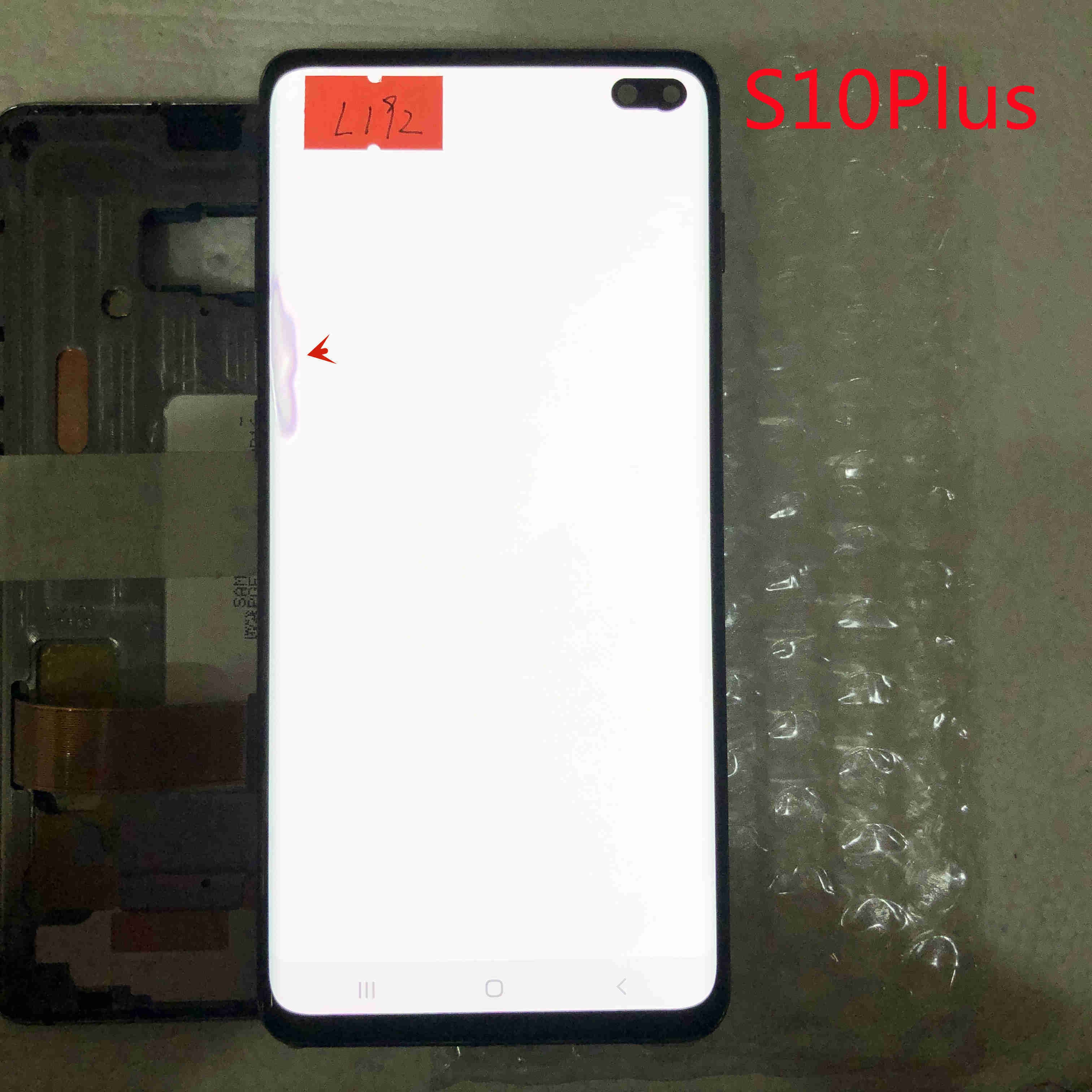 Original Super AMOLED Display Touch screen For Samsung Galaxy S10+ G975F S10PLUS G975U LCD Display With Frame screen 1 enlarge