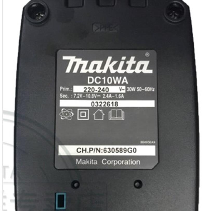 Makita 10.8V 12V Charger DC10WA for BL1013 BL1014  DC10WB  DF030D DF330D DF030DWE TD090D  HP330D HP330Z TD091Z UH200Z enlarge