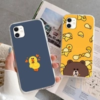 sally cony phone case for iphone 5s 6 7 8 11 12 plus xsmax xr pro mini se soft transparent cover fundas coque
