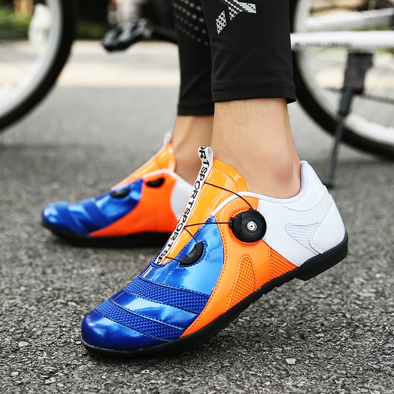 Non-locking Road Cycling Shoes bike shoes bicycle splint Non-slip slippery breathable racing shoes sports shoes
