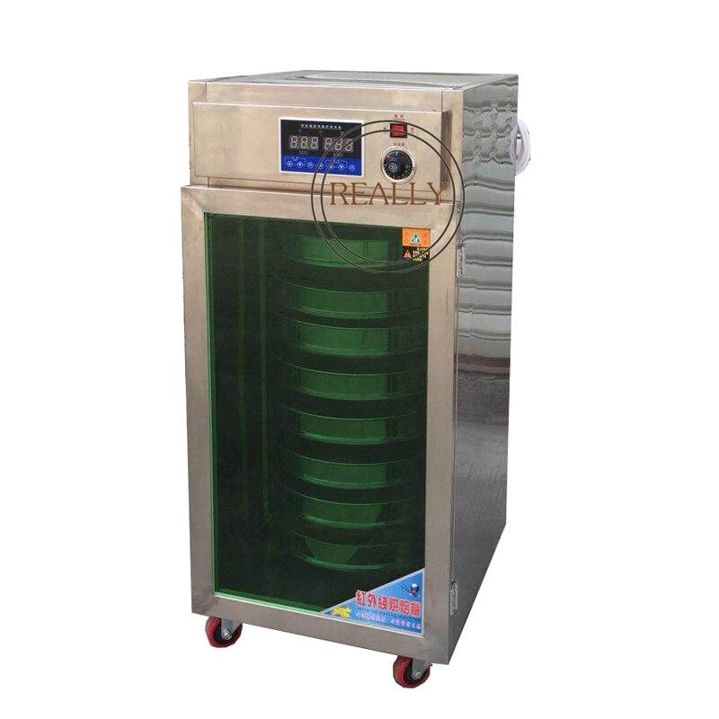 8 слоев чай выпечки и ароматизатор автомат для сушки продуктов кофе для круп зерна жаровня машина