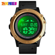 SKMEI 1476, Цифровые мужские часы, спортивные часы, 5 бар, водонепроницаемые, светящийся дисплей, фитнес часы, montre homme, мужские часы