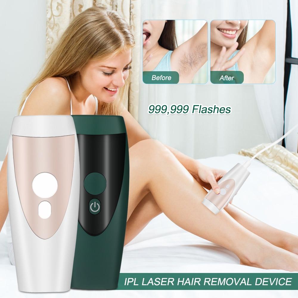 المنزل عقد آلة إزالة الشعر بالليزر أداة إزالة الشعر إزالة الشعر الدائم IPL نظام 999999 النار ضوء البقول كامل الجسم مزيل الشعر