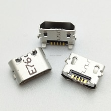 50pcs Micro USB di Ricarica Porta Del Connettore Del Bacino di Presa Per Huawei Ascend 4X 4X Y6 4A P8 C8817 P8 max p8 Lite 4C 3X Pro G750-T20