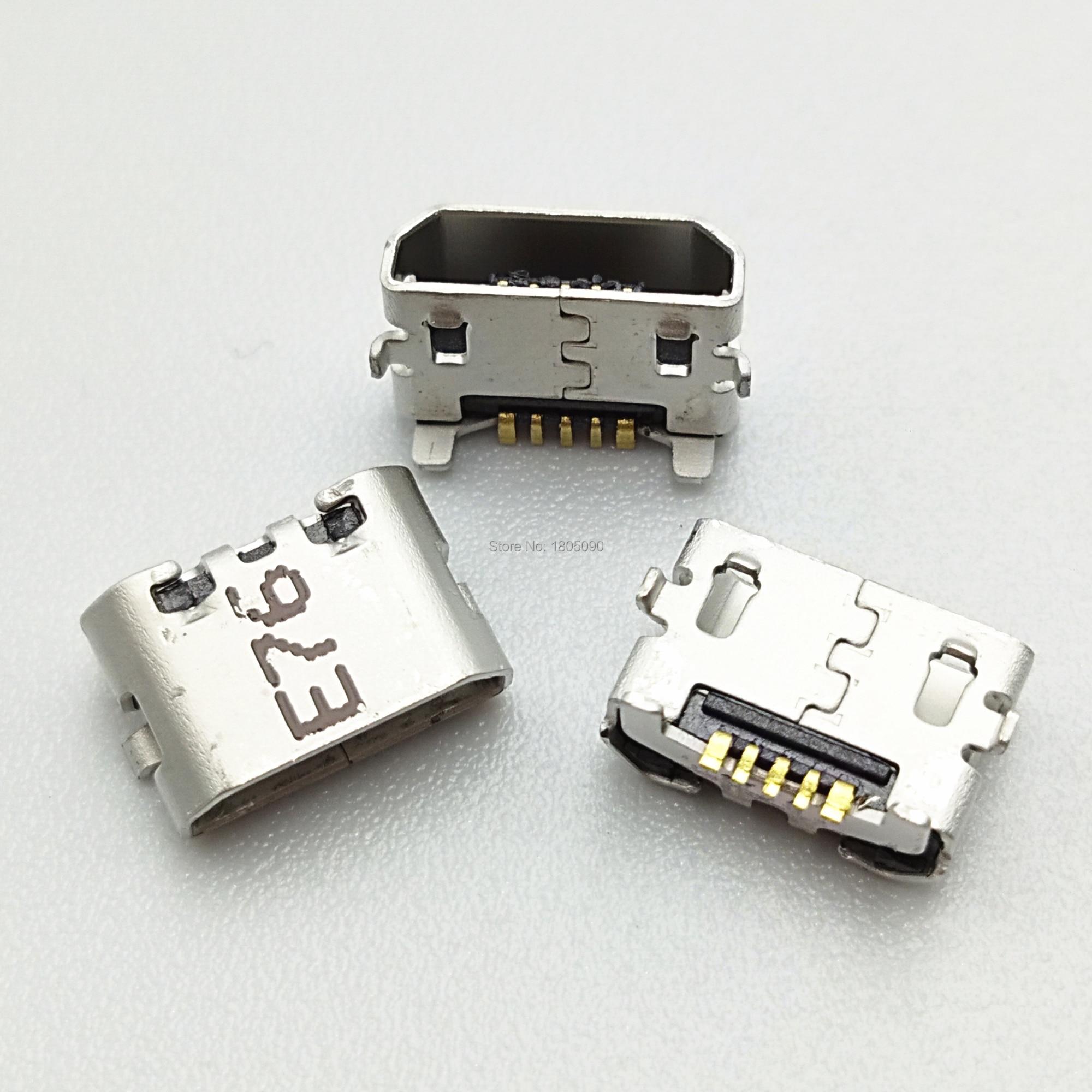 50 Uds puerto de carga micro USB conector hembra para Huawei Ascend 4X 4X Y6 4A P8 C8817 P8 max P8 Lite 4C 3X Pro G750-T20