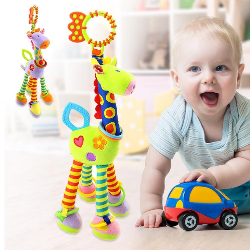Мягкие телефонные звонки, детские погремушки в виде жирафа