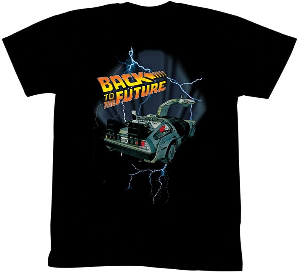 Classic Movie Back To The Future, DMC Sports Car Mens T-Shirt. Summer Cotton Short Sleeve O-Neck Unisex T Shirt New S-3XL
