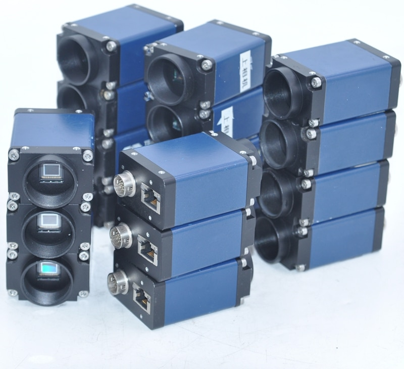 Canada DALSA KLV-200-Q high-speed industrial camera M1600 industrial vision inspection gigabit network