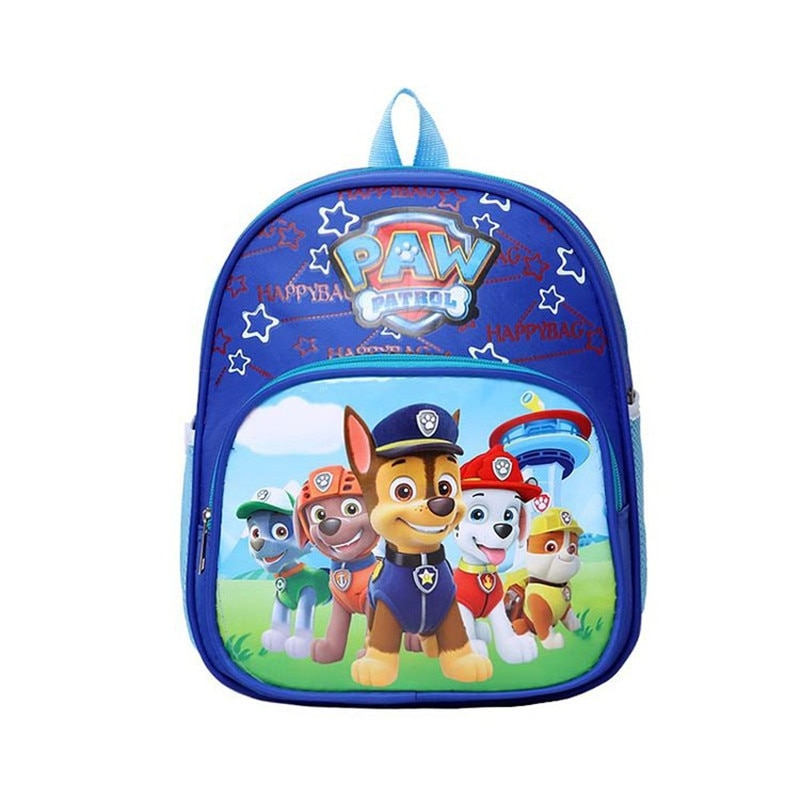 Conjunto de juguetes de la patrulla canina, bolsa para niños, mochila escolar bonita, mochila de patrulla canina, regalo de cumpleaños