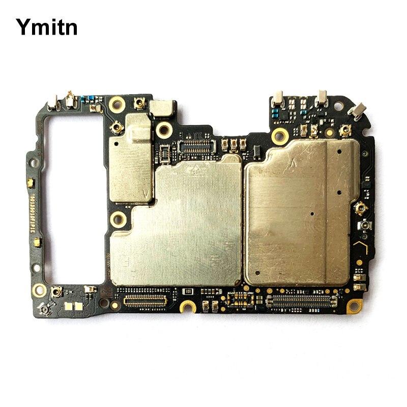 لوحة رئيسية غير مقفلة من Ymitn لوحة رئيسية مع شرائح كابل مرن لهاتف شاومي 9 برو Mi9pro إصدار خاص شفاف