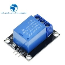 Плата модуля реле TZT KY-019 5 в One 1 канала, защитная плата для PIC AVR DSP ARM для arduino