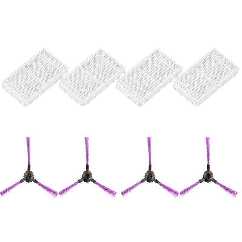 Side Brush+Filters for Fmart YZ-Q2S/Q1S/E-R302G(S)/E-R550W(S)/FM-R150/FM-R330