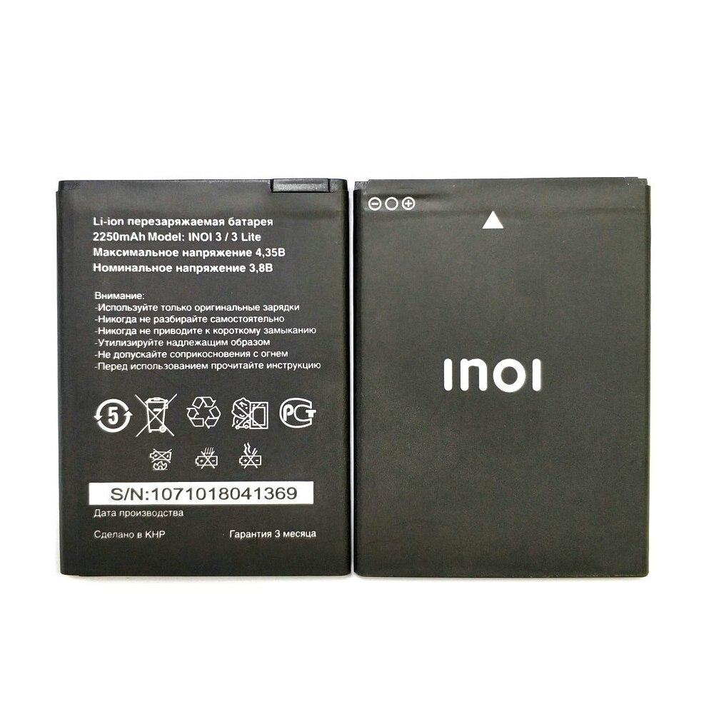 Neue 2250mAh Polymer Smart Handy Batterie Batterien Für INOI 3 Lite INOI3 Lite + tracking-code