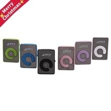 Portable Mini Mirror Clip MP3 Player Music Media Support Micro SD TF Card Fashion Hifi MP3 for Outdo