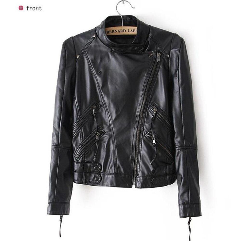 Женская короткая куртка из ПУ кожи, черная короткая куртка из мягкой ПУ кожи, верхняя одежда, осень-зима
