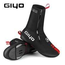 GIYO Reflective Thermal Warm Cycling Bike Shoe Covers Bicycle Overshoes for Men Women Road Mountain