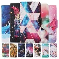 kids etui card holder wallet flip case for samsung galaxy s21 ultra s20 plus a12 a42 a32 a52 a72 5g m31 a21s a20e back cover bag