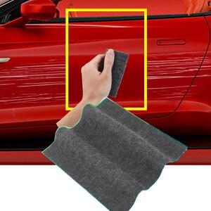 Image 1 - Инструмент для ремонта царапин в автомобиле, тканевая нано материальная поверхность, тряпки для автомобисветильник, средство для удаления царапин, потертости для автомобильных аксессуаров
