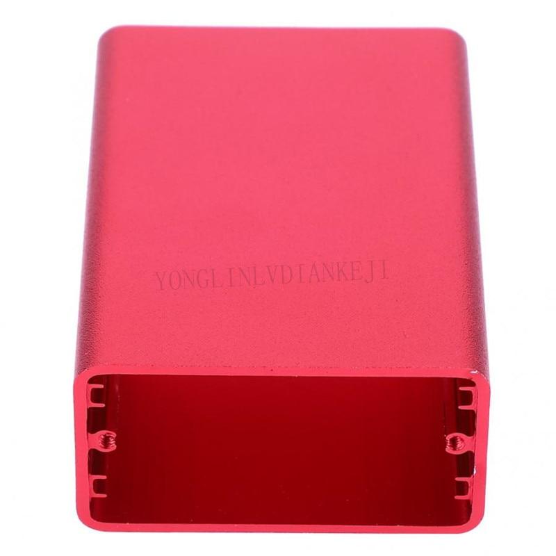 1 Uds caja de aluminio 60*44*23*2,36*1,73*0,91/un montón de aluminio de recinto de extusion/extrusión de caja/caja de la caja de potencia