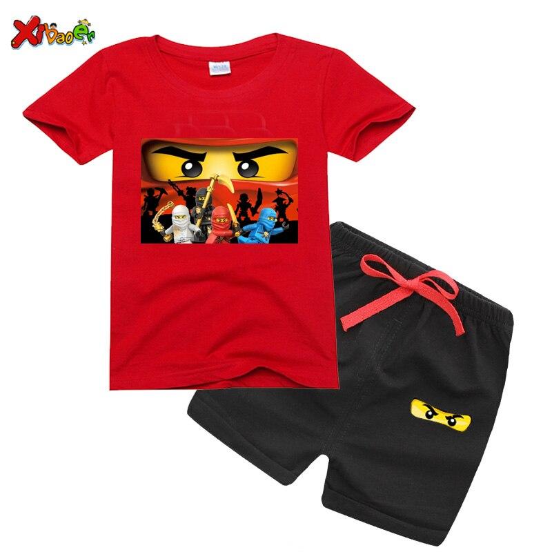 Boys T-shirts Set 2021 Summer Kids T Shirts Cotton Top Tees Girls tshirt Clothes shirt fashion