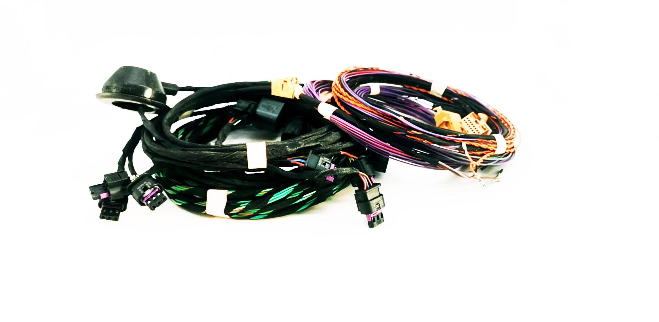 Piloto de estacionamiento delantero y trasero 8K OPS asistencia de estacionamiento arnés de cableado para PQ35 Golf 5/6 Passat B6 B7 CC PQ25 polo