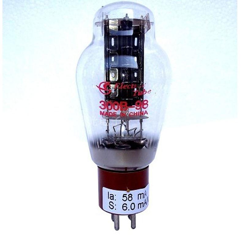 TZT Shuguang 300B-98 أنبوب الكترون فعالة من حيث التكلفة الصوت فراغ أنبوب ث/أحمر أبيض الخشب قاعدة لمكبرات الصوت أنبوب