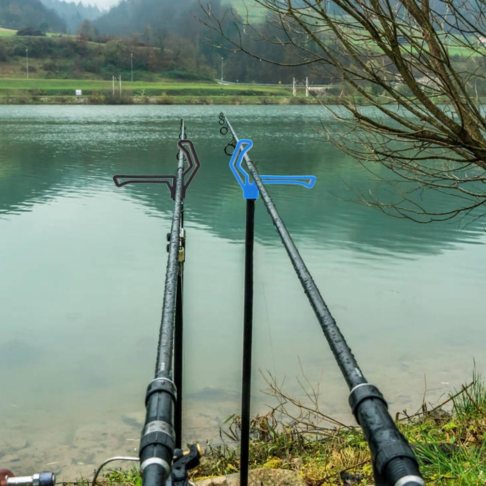 1/2pcs M3/8 Plastic Fishing Rod Rest Gripper Head Carp Fish Pole Holder Bracket Support Stand Fishing Accessories Fishing Tool