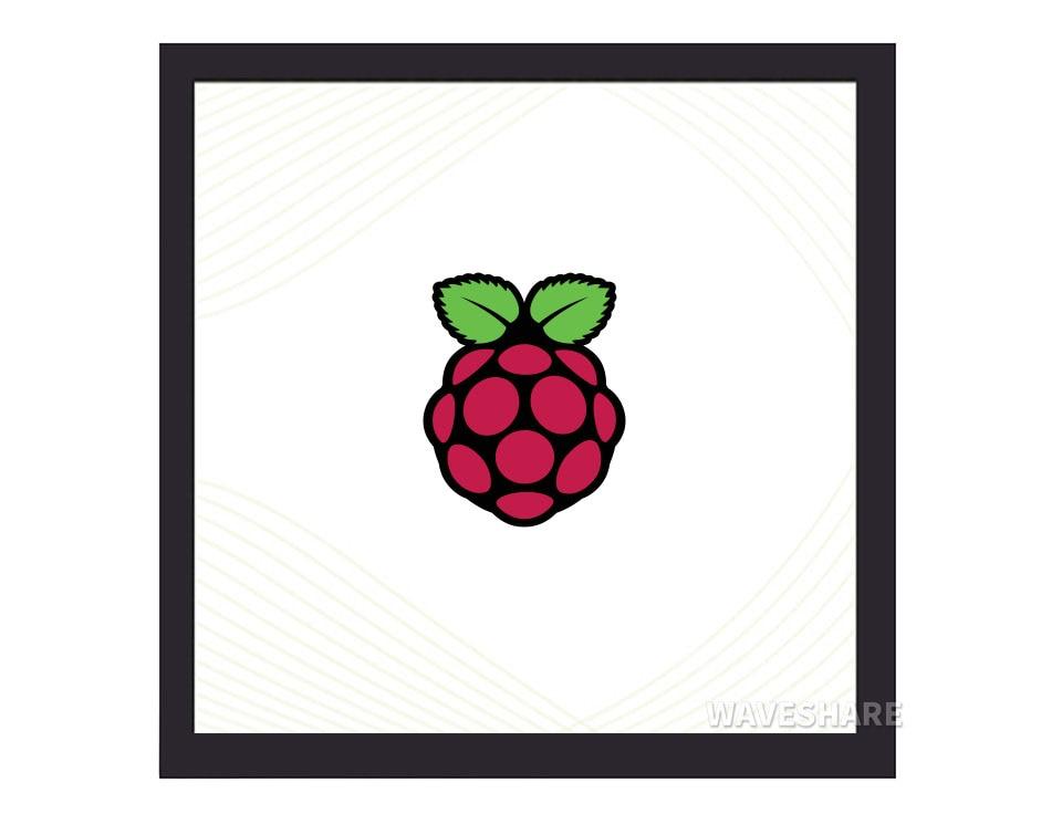 شاشة 4 بوصة مربعة راسبيري Pi IPS سعوية تعمل باللمس ، 720 × 720 ، 5 نقاط تعمل باللمس ، 170 زاوية عرض ، مخطط استهلاك منخفض للطاقة