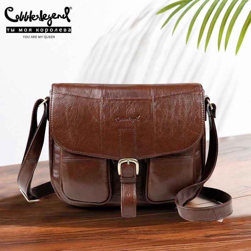 Cobbler Legend Brand Genuine Leather 2019 Women Shoulder Bag Casual Style Crossbody For Ladies Handbags Female 0700101-1