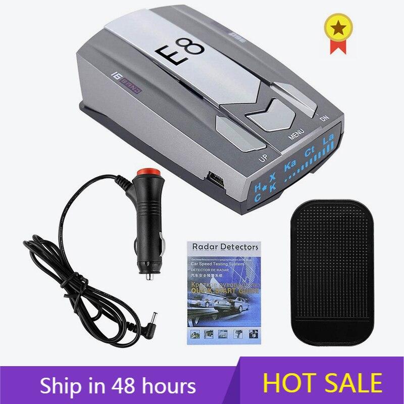 Автомобильный радар-детектор s, радар-детектор, полицейский радар-детектор с большим радиусом обнаружения, голосовые оповещения со светоди... радар детектор magma r5