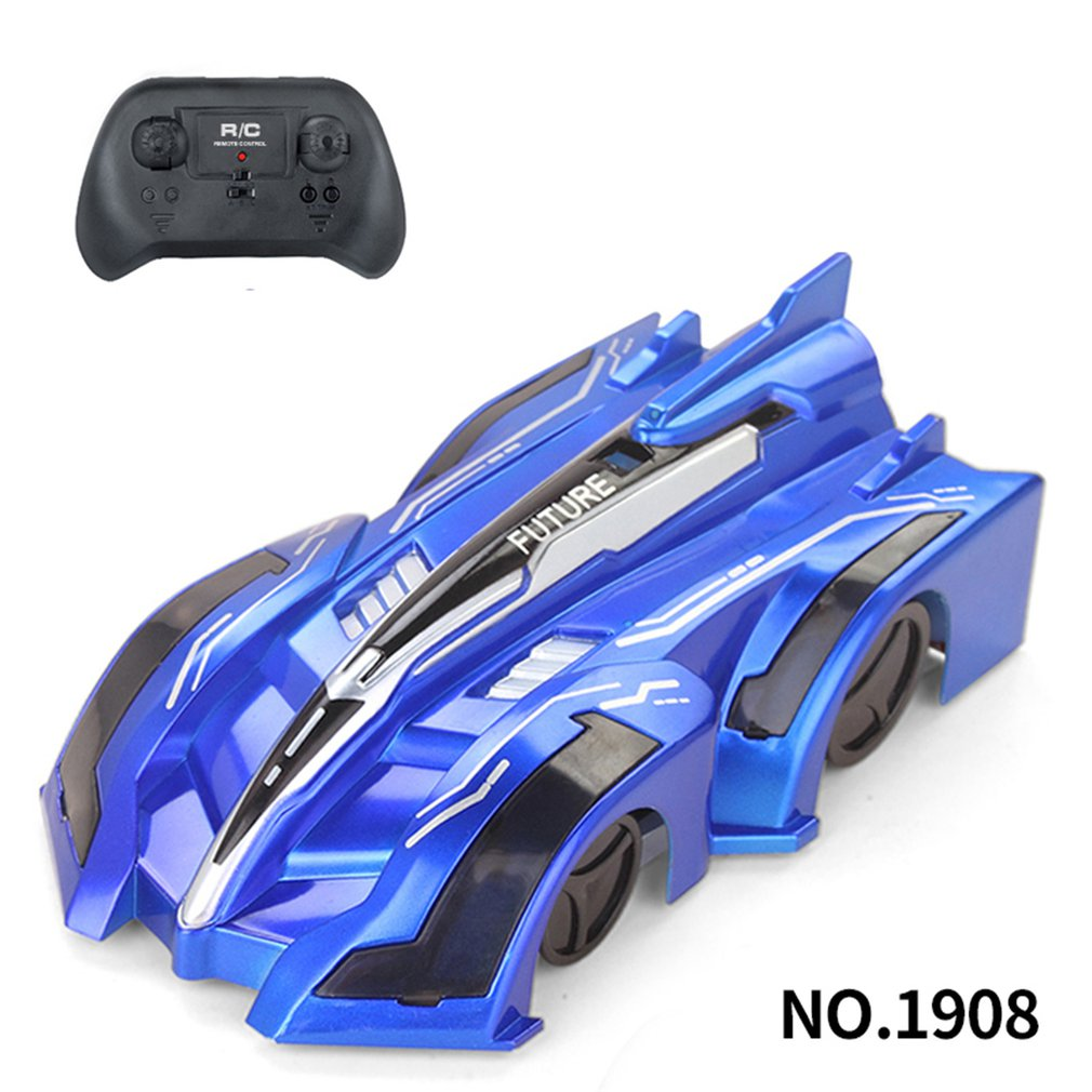 2019 Newest RC Wall Climbing Car Toy Remote Control Anti Gravity Ceiling Racing Car Electric Toys Ma