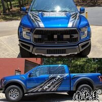 car stickers for ford raptor f150 ranger body appearance decoration modified decals ranger f 150 car film