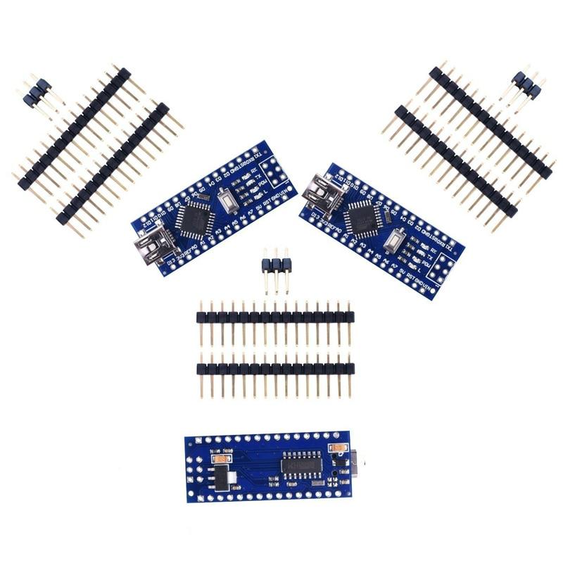 3 шт. x Nano V3 Модуль ATMega328 P CH340G 16MHz mini USB совместимый Arduino