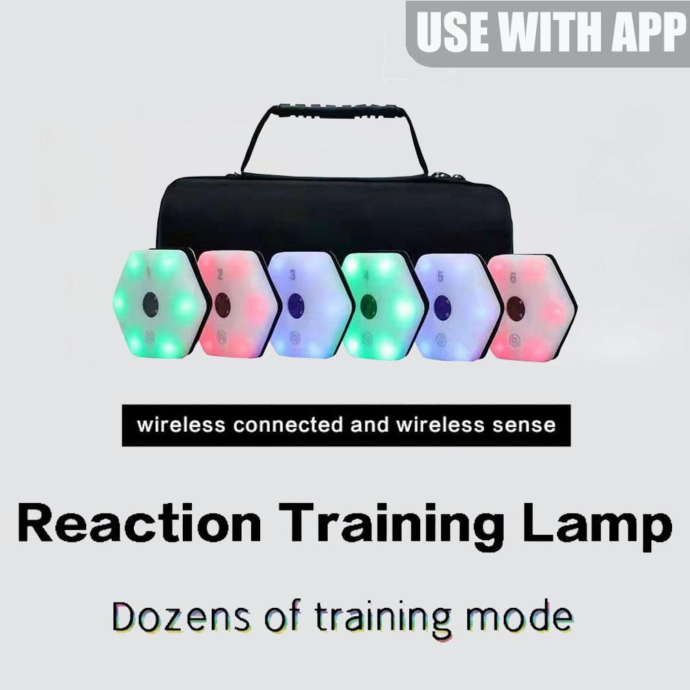 【Queling】тренировочный светильник reactionx, лампа для скоростного реагирования, оборудование для баскетбола, бокса, фонарь, ограждение