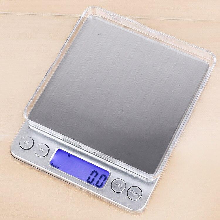 ميزان مطبخ إلكتروني I2000 ، متعدد الوظائف ، دقيق للغاية ، وزن المجوهرات 0.01 جرام